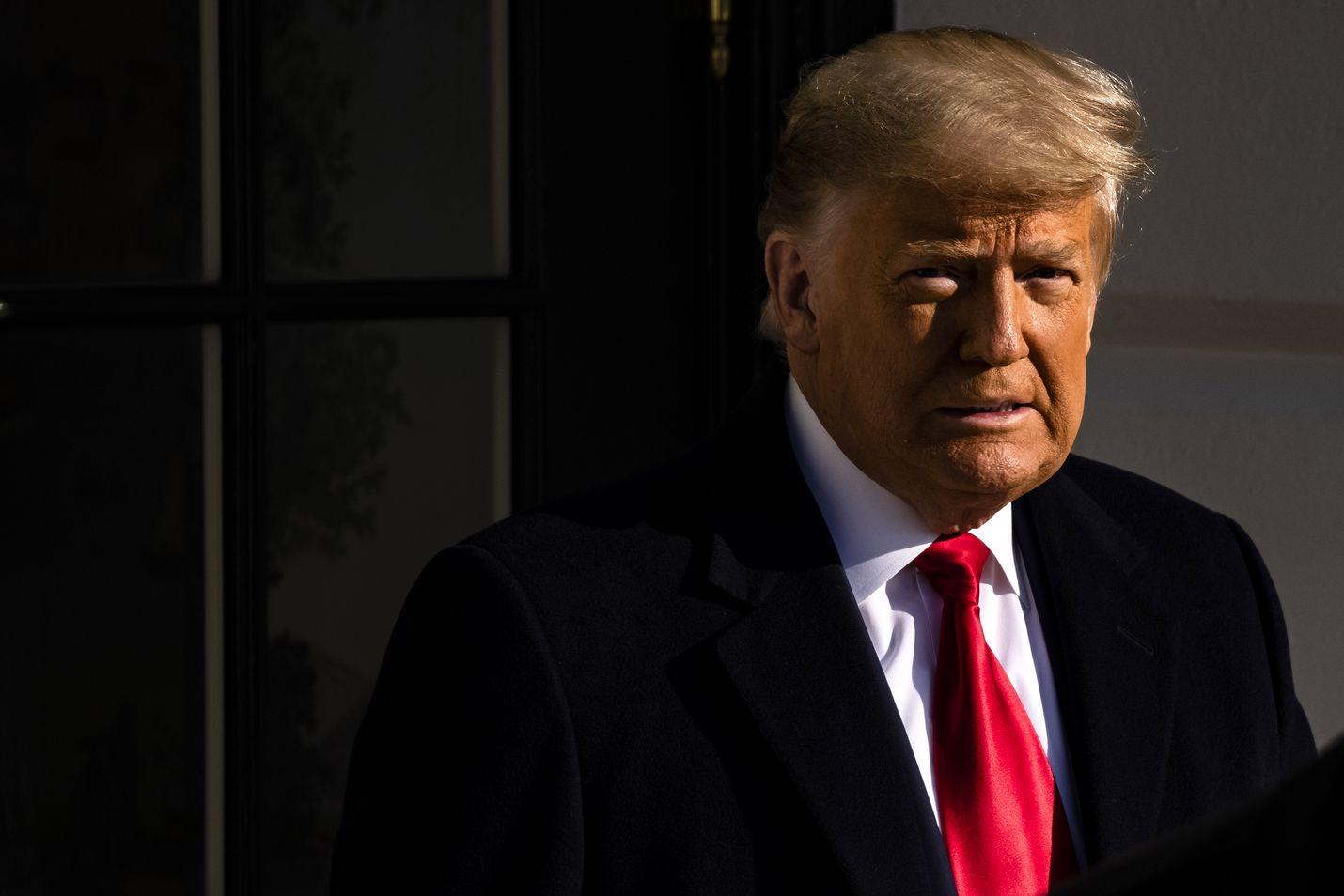 Donald Trump lähti tiistaina Valkosesta talosta Texasiin tarkastelemaan Yhdysvaltain ja Meksikon välistä rajamuuria.