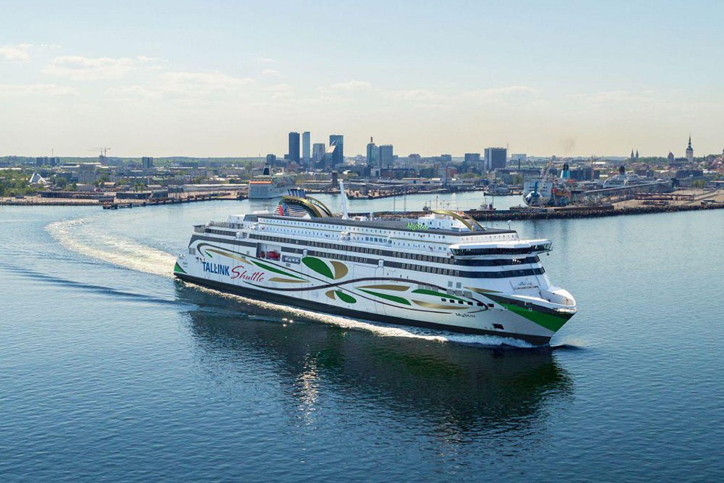Tallink Silja on liikennöinyt Suomen ja Viron väliä rahdista saatavien tulojen turvin.