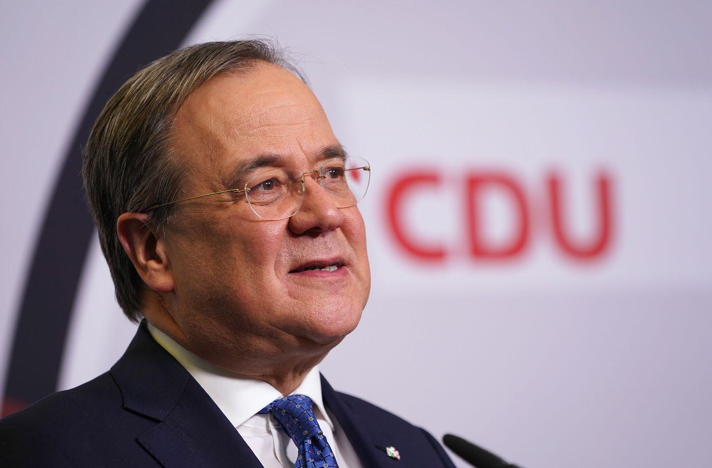 Saksan pääpuolueen CDU:n puheenjohtaja Armin Laschet ei aio ryhtyä vastustamaan Nord Stream 2 -kaasuputkea.