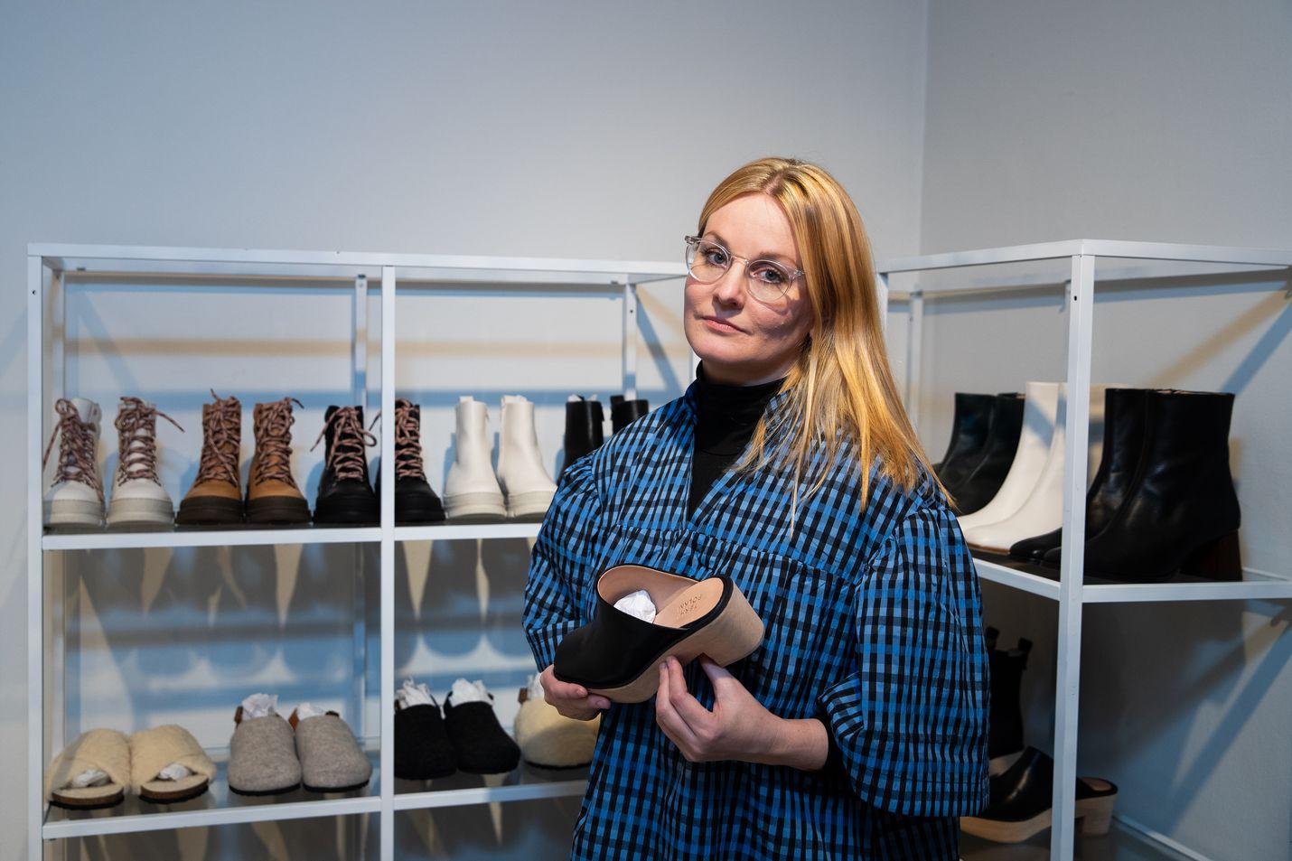 Terhi Pölkin mielestä käsintehty on uutta luksusta.