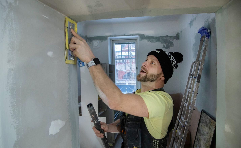 Reino Nordin remontoi kotiaan, kun aikaa on yllin kyllin.