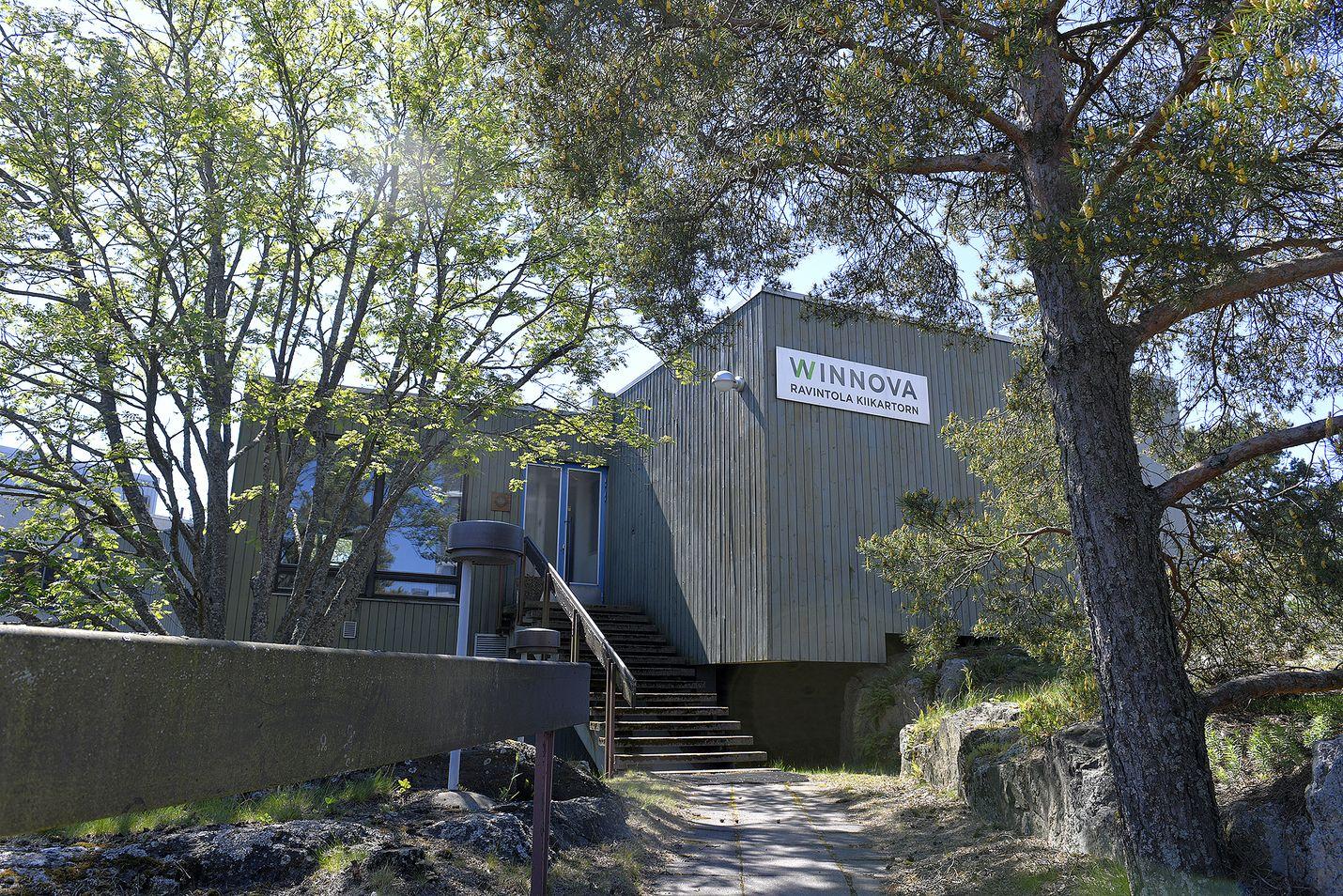 Muun muassa opetusravintola Kiikartorn puretaan ja korvataan uudella rakennuksella Winnovan suuressa muutospaketissa.