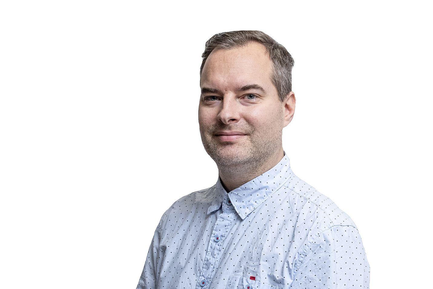 Lännen Median toimittaja Joonas Kuikka.