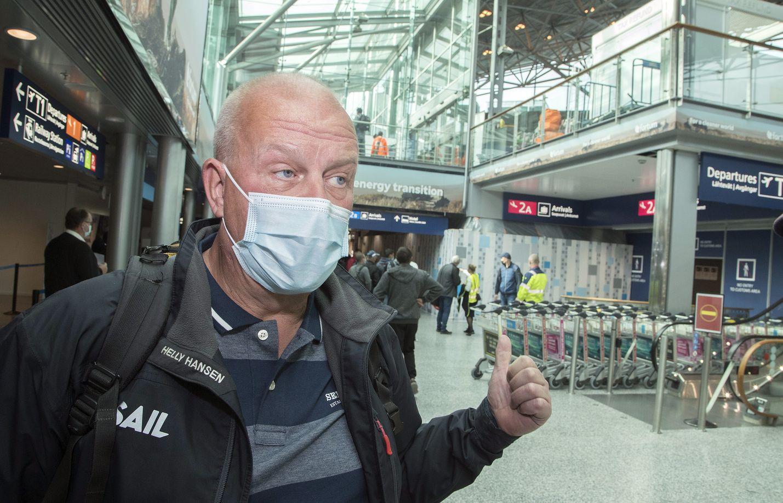 Mika Partasella oli koronapandemian aikana puolentoista vuoden tauko matkustamisessa. Nyt ulkomailla käynti on tuntunut hänestä mukavalta, eikä matkustamisen terveysturvallisuus huolestuta.