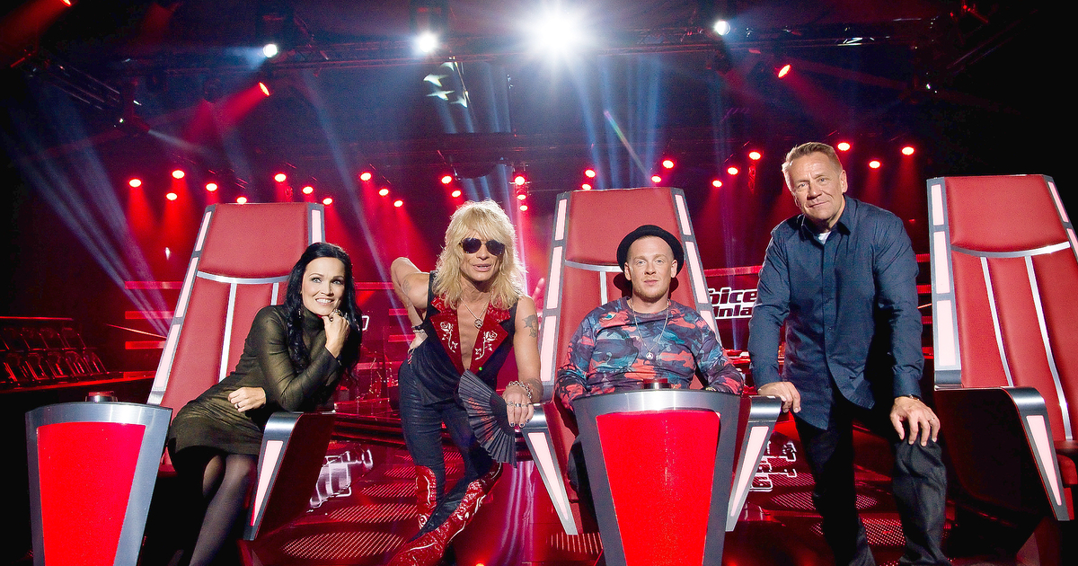 The Voice Of Finland 2021 Tuomarit