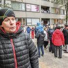 Juha Tiihonen oli saapunut paikalle tuttavansa houkuttelemana.
