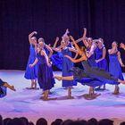 Tanssioppilaitoksen joulunäytöksen avasivat balettiryhmäläiset. Kuva: Pekka Lehmuskallio
