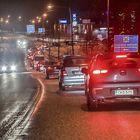 Autoletka ylsi valtatielle asti. Kuvat: Pekka Lehmuskallio
