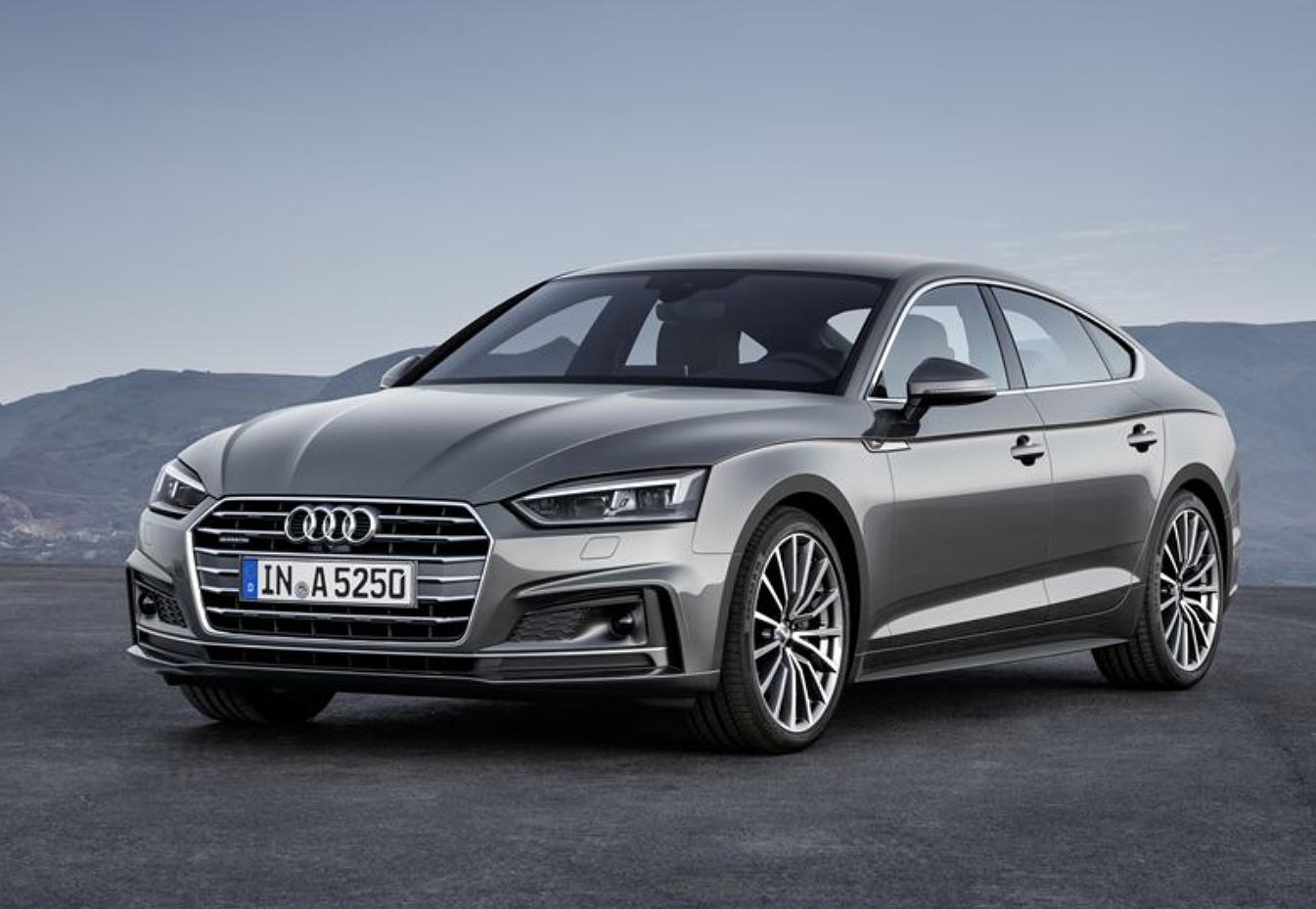Uusi Audi A5 Sportback.