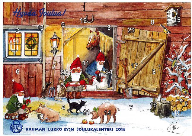 Lukon Joulukalenteri
