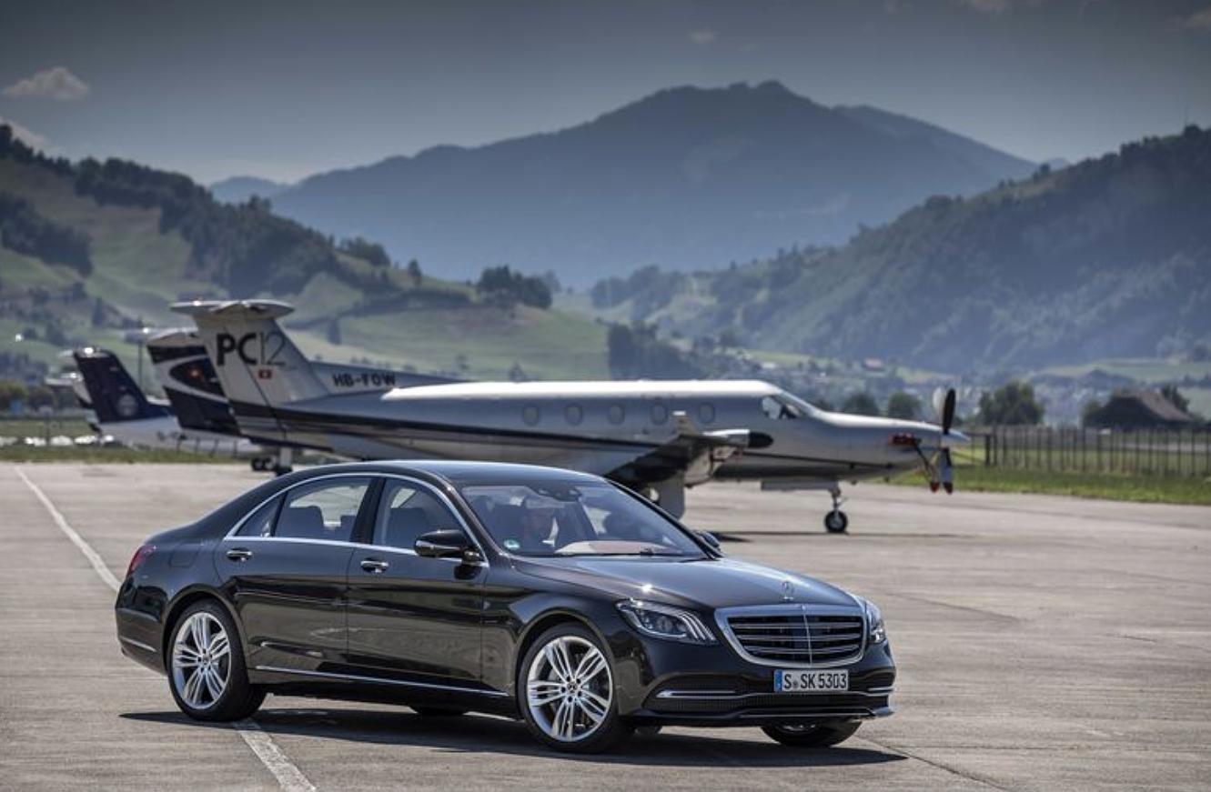 Uusi S-sarjan Mercedes-Benz.