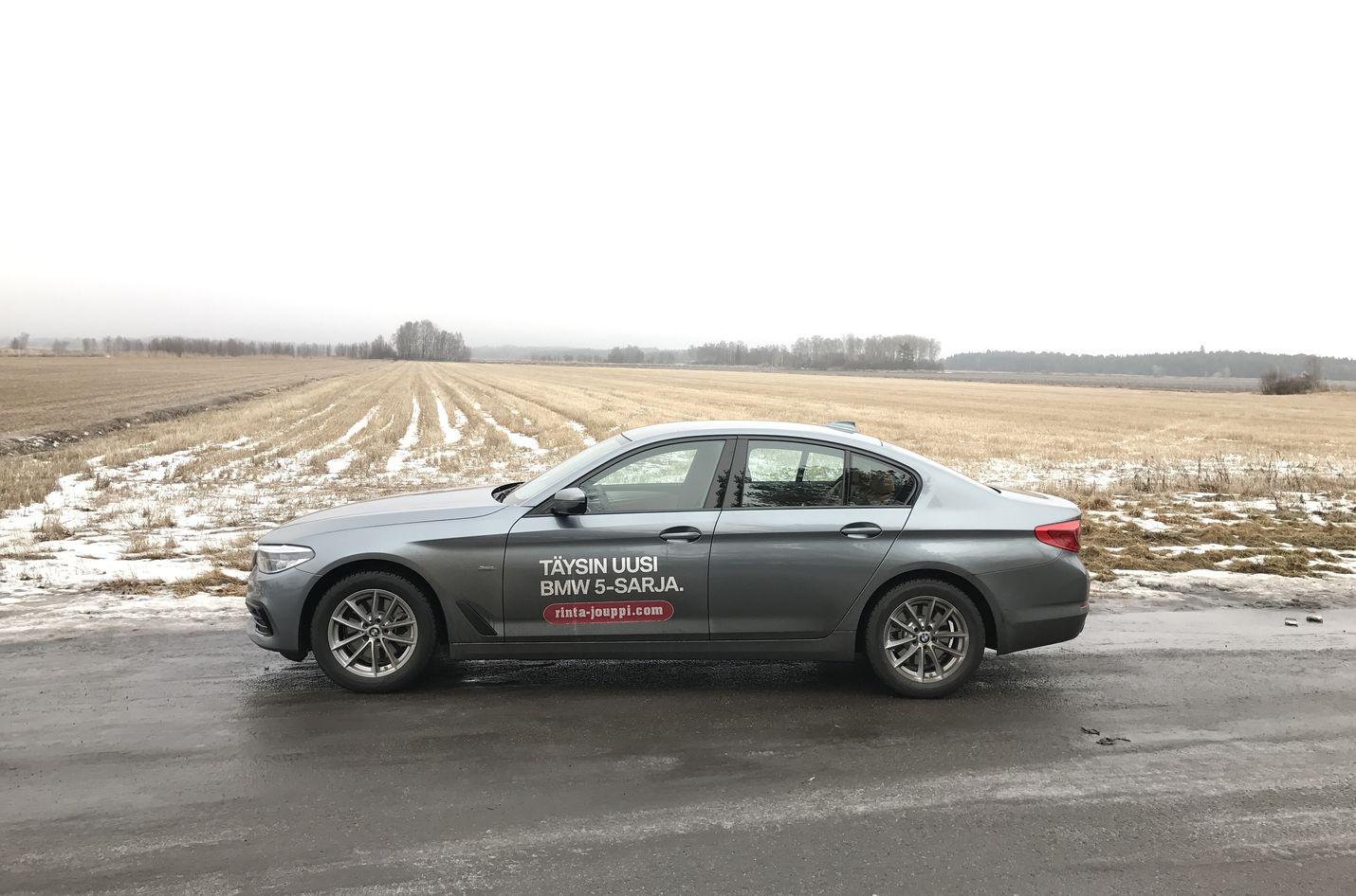Uusi BMW 520d xDrive.