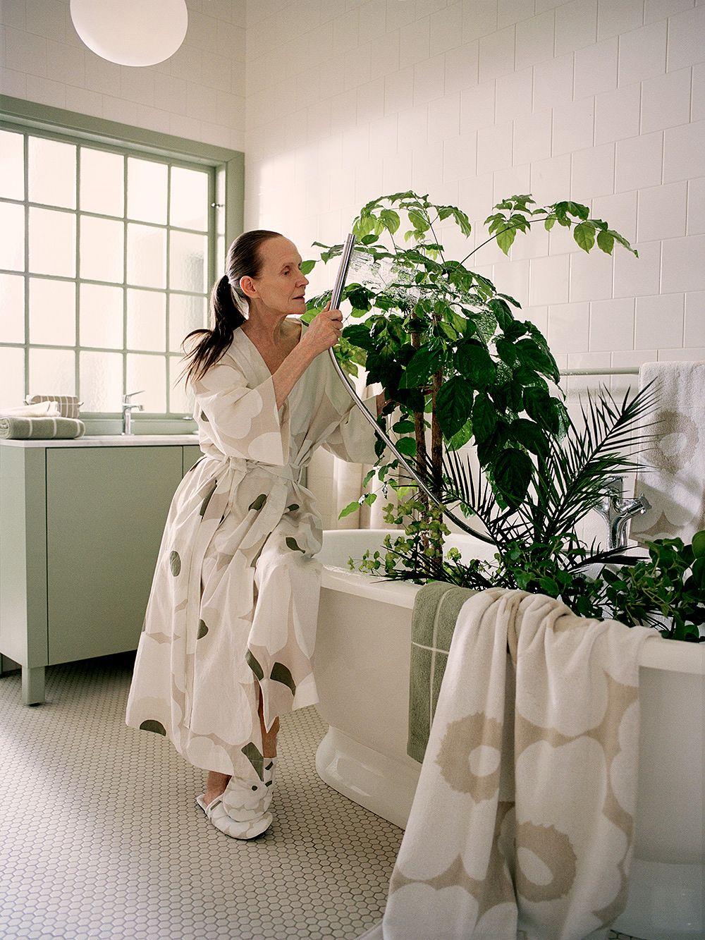 Marimekko Unikko-kylpytakki