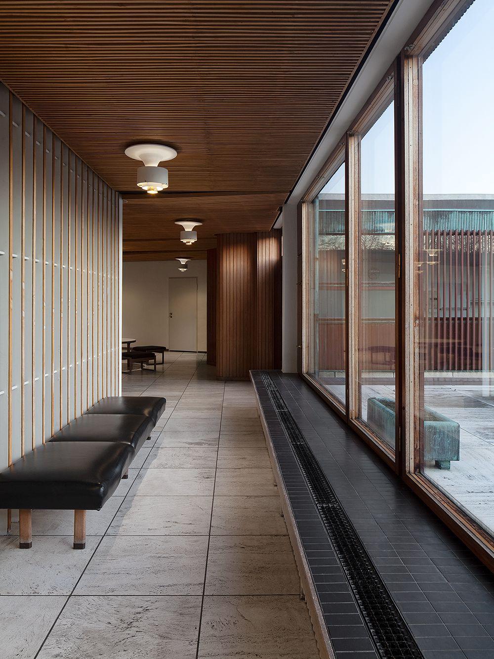 Alvar Aalto Kulturhaus Wolfsburg, sisätilat