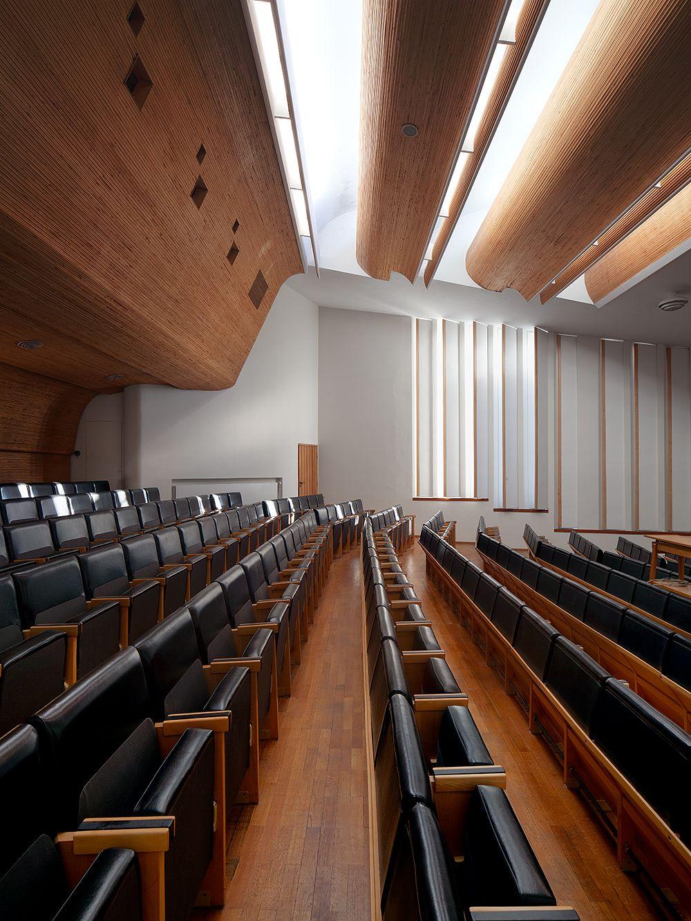 Alvar Aalto Kulturhaus Wolfsburg, auditorio
