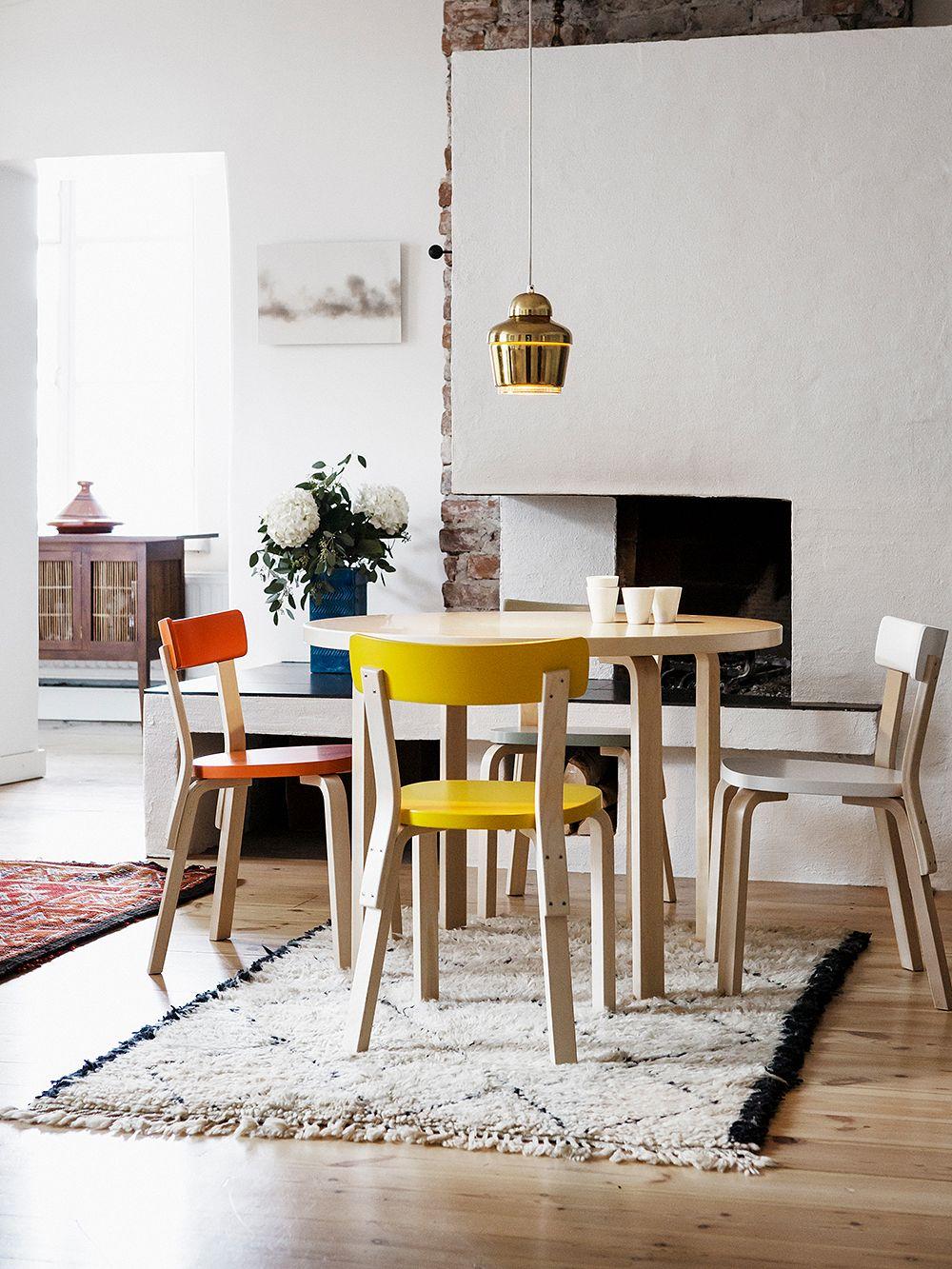 Artek Aalto-tuoli 69