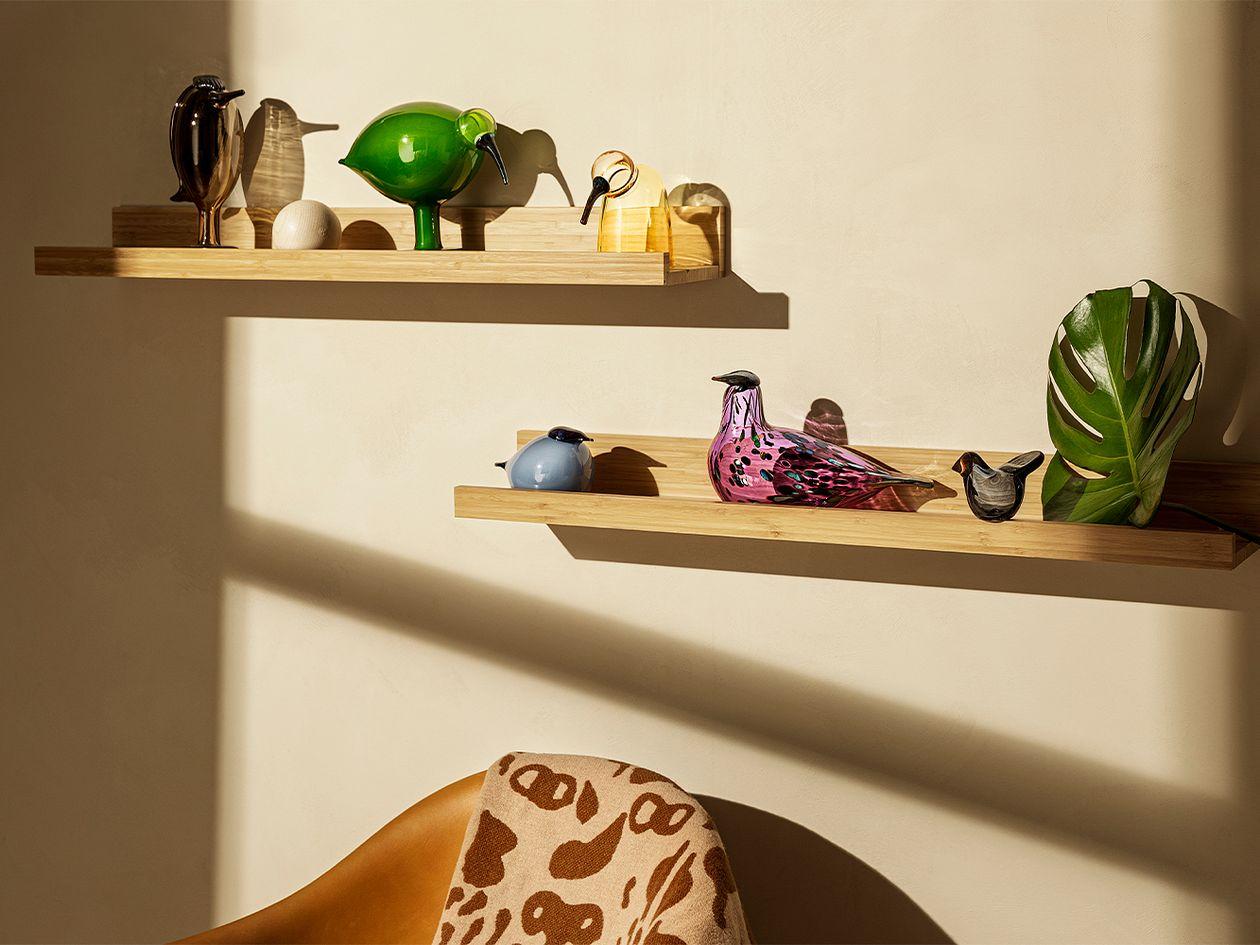 Iittala Birds by Toikka Sieppo, kierrätyslasi
