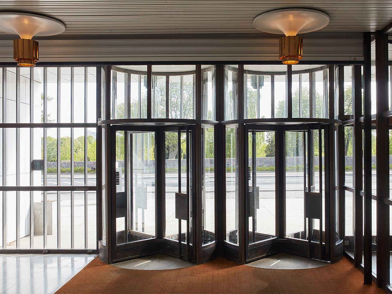 Kunsten sisäänkäynti - Alvar Aalto