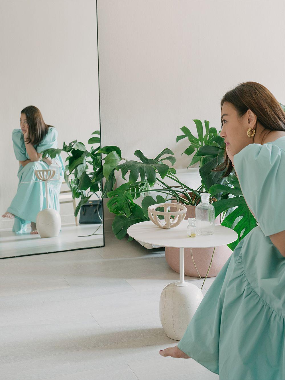 &Tradition Lato LN9 sohvapöytä, valkoinen - Cream Diva marmori