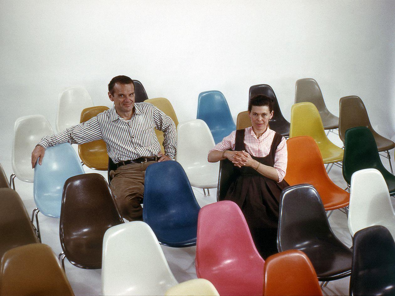 Suunnittelijat Charles ja Ray Eames