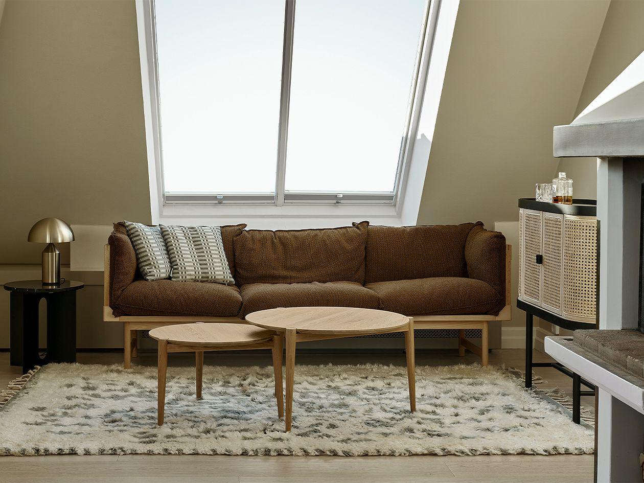 Finarte Suovilla matto, 170 x 240 cm, harmaa