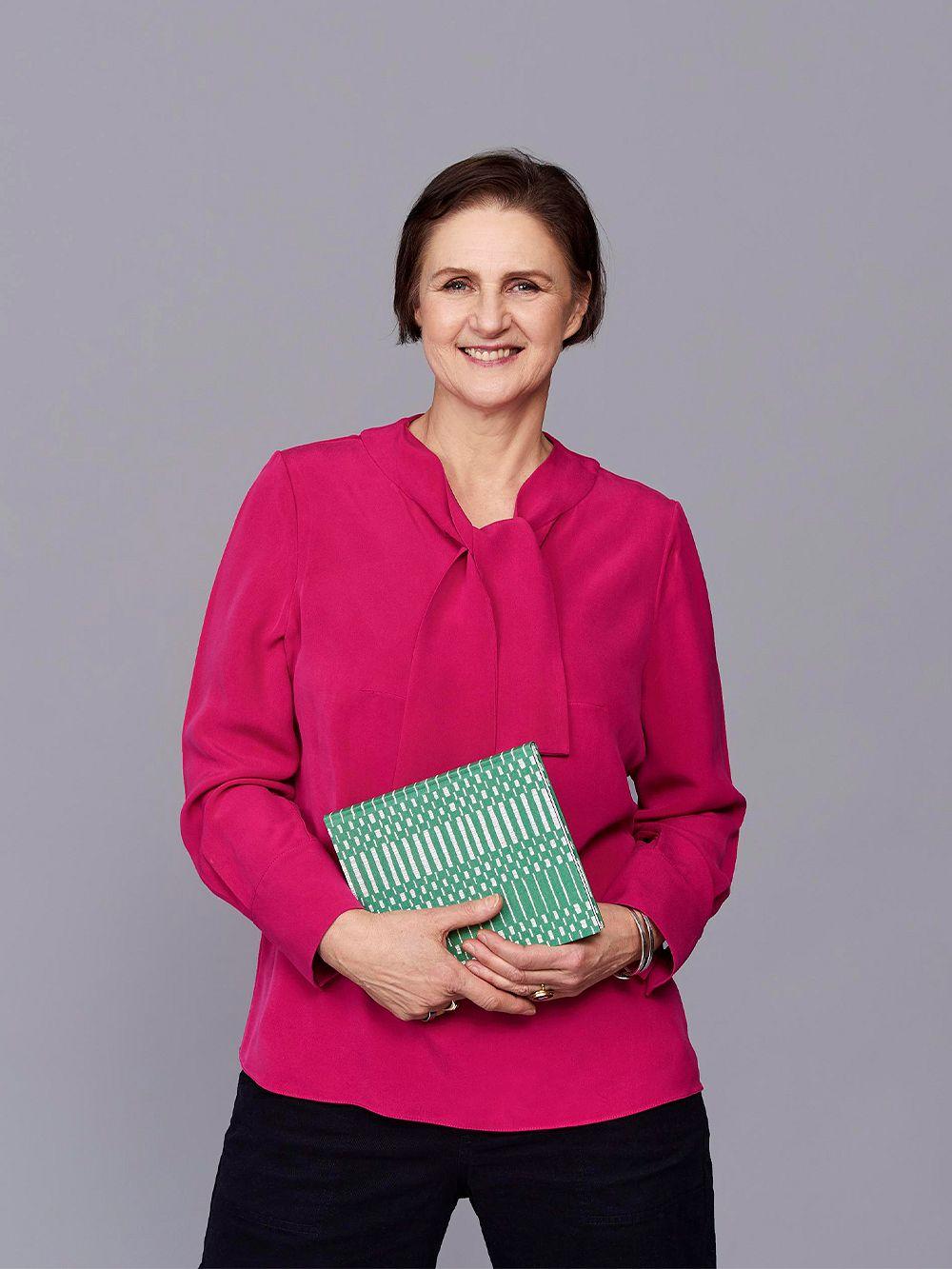 Tekstiilisuunnittelija Johanna Gullichsen