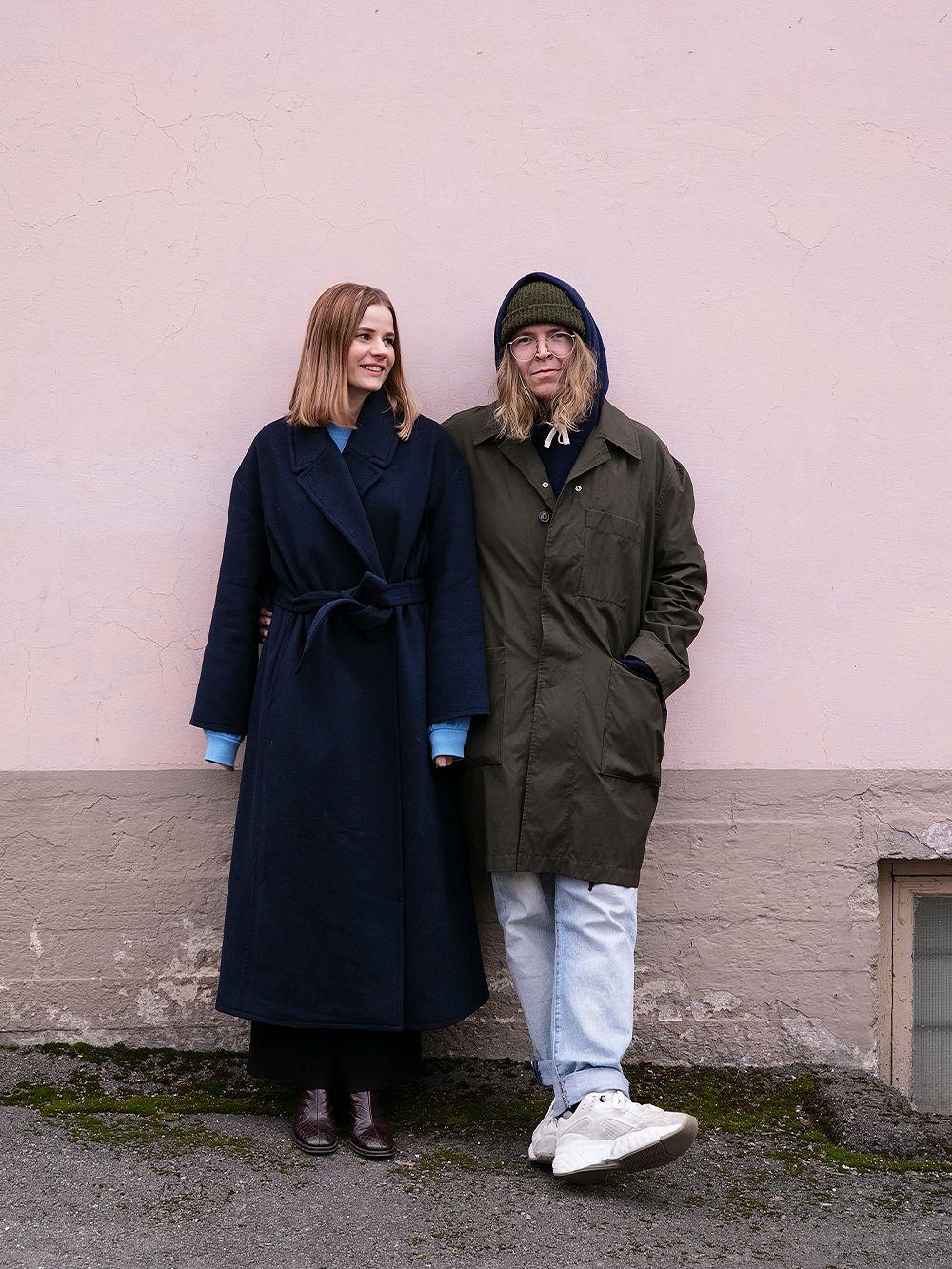 Laura Kuusajoki ja Jonne Heinonen