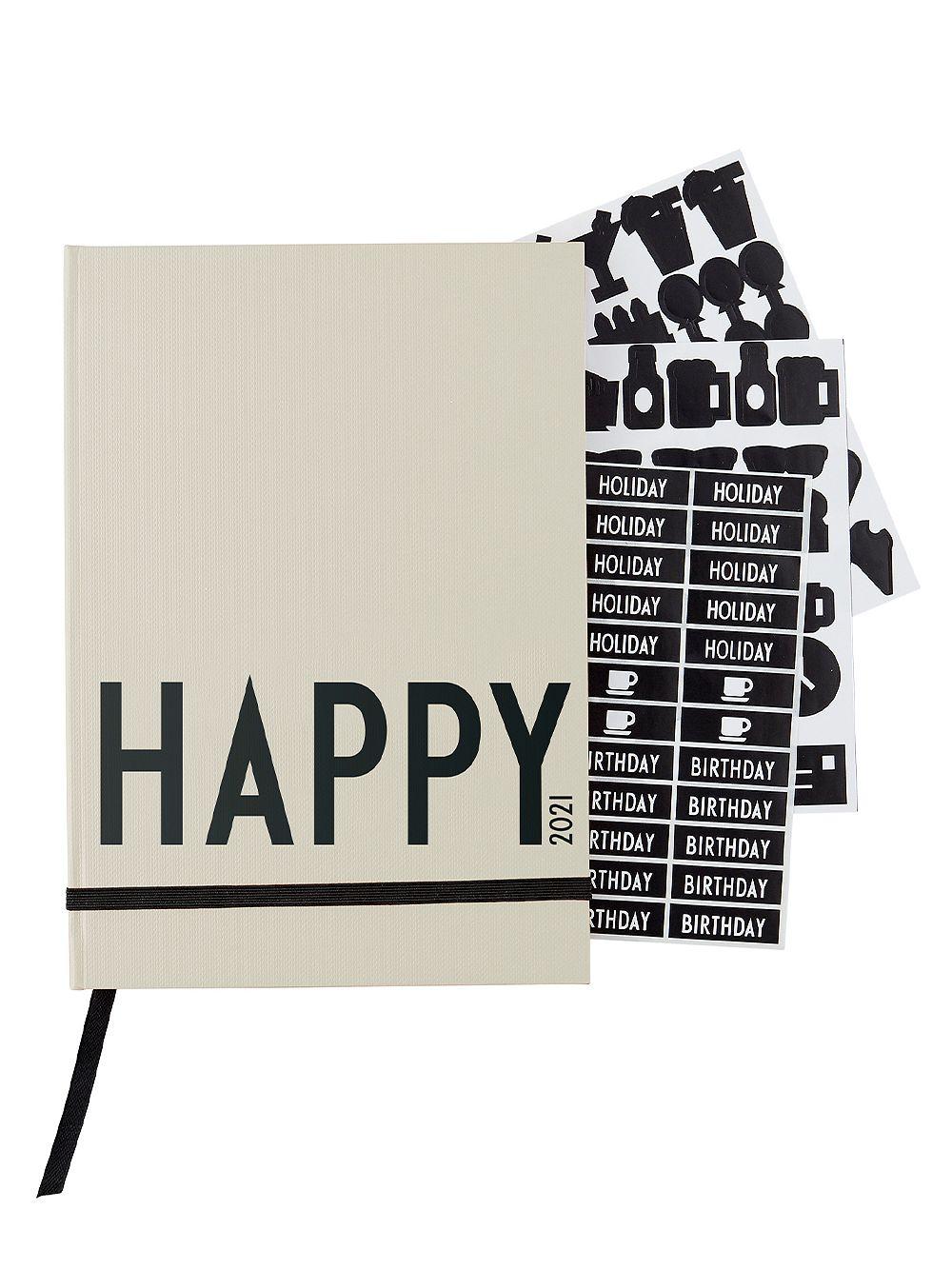 Design Letters: Kalenteri A5 2021