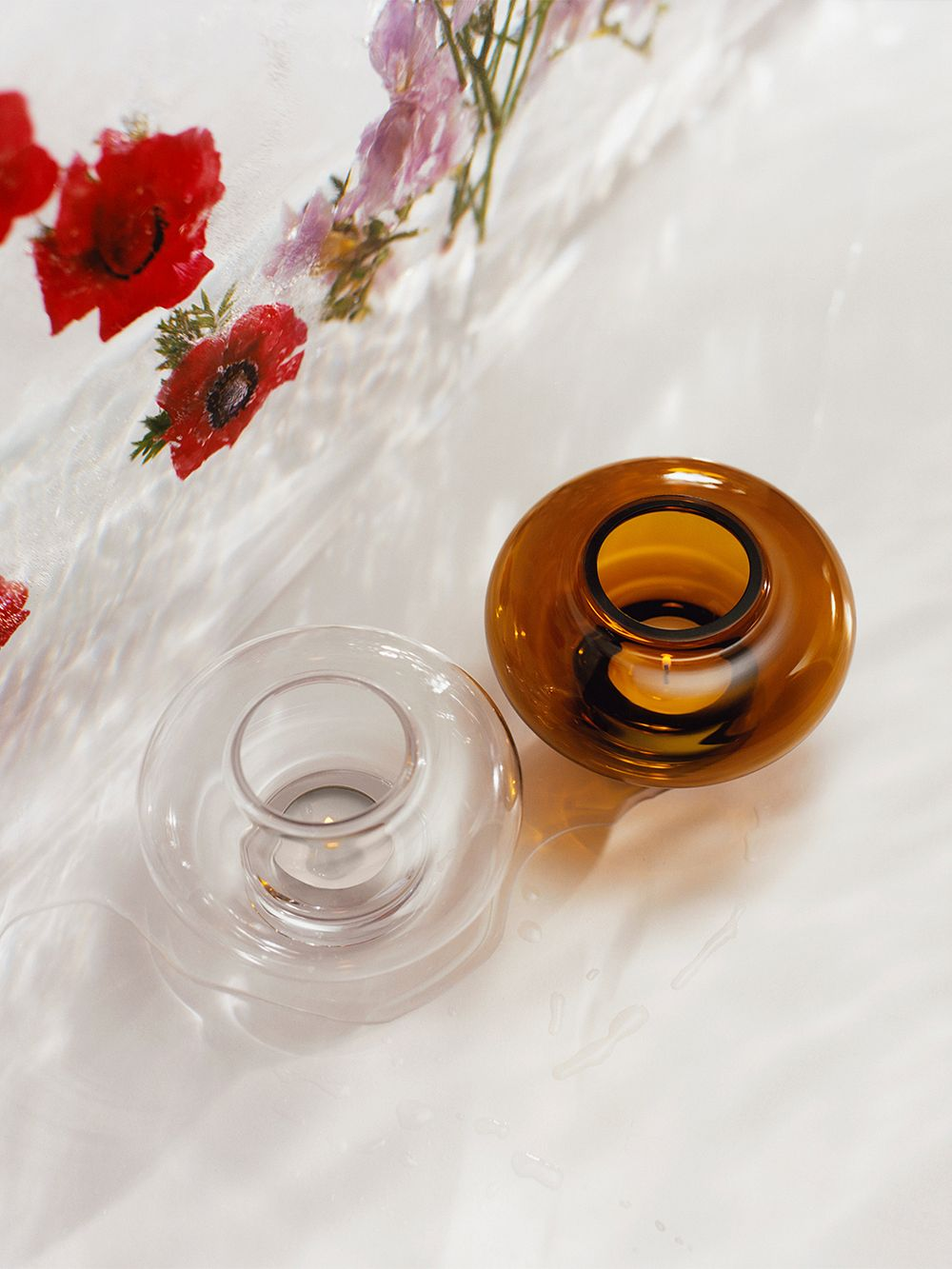 Marimekko  Fyr kynttilälyhty, ruskea