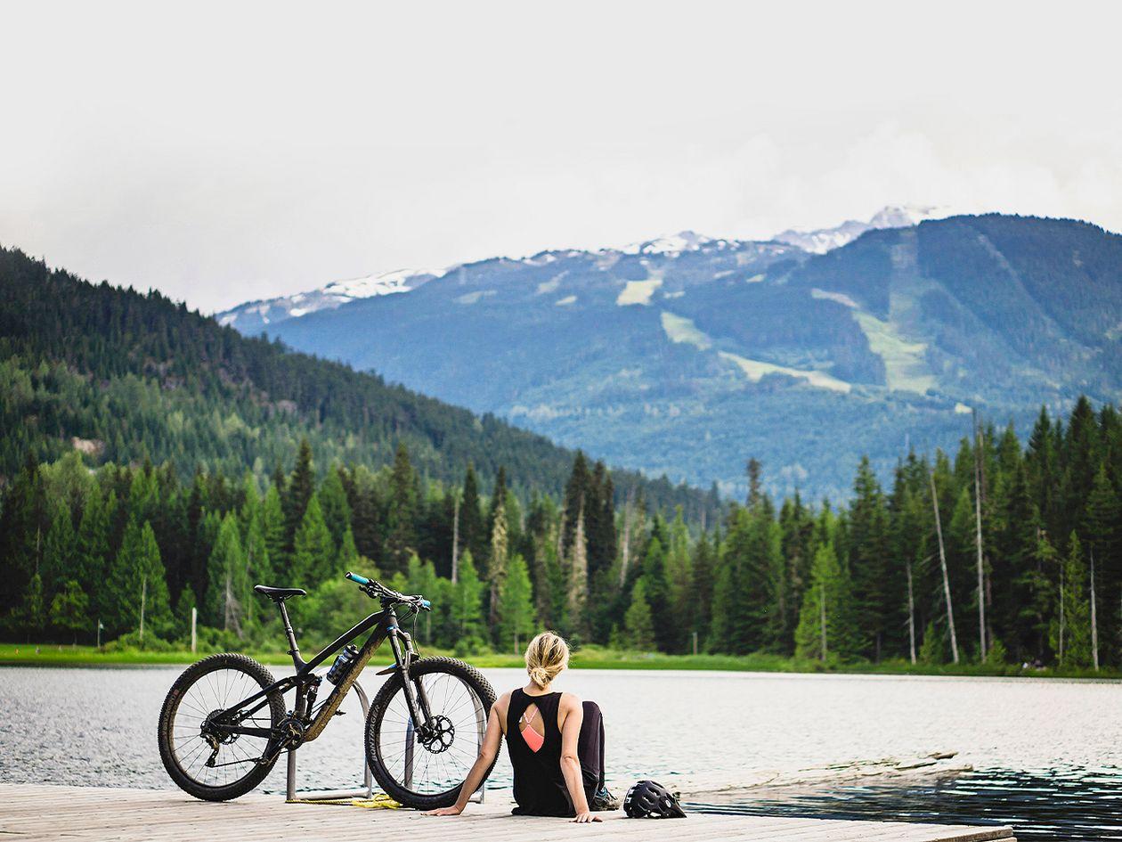 Pyöräilyreitit mahtavissa maisemissa: Whistler, Kanada