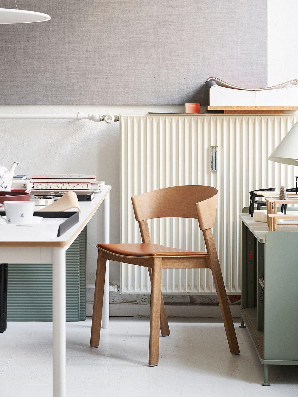 Muuto Cover-tuoli, käsinojaton