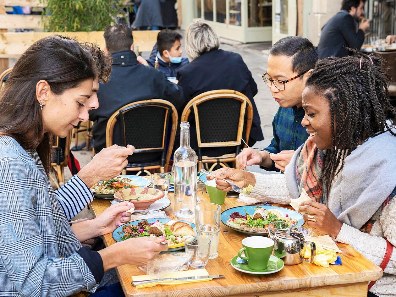 Le Daily Syrien -ravintola Pariisissa