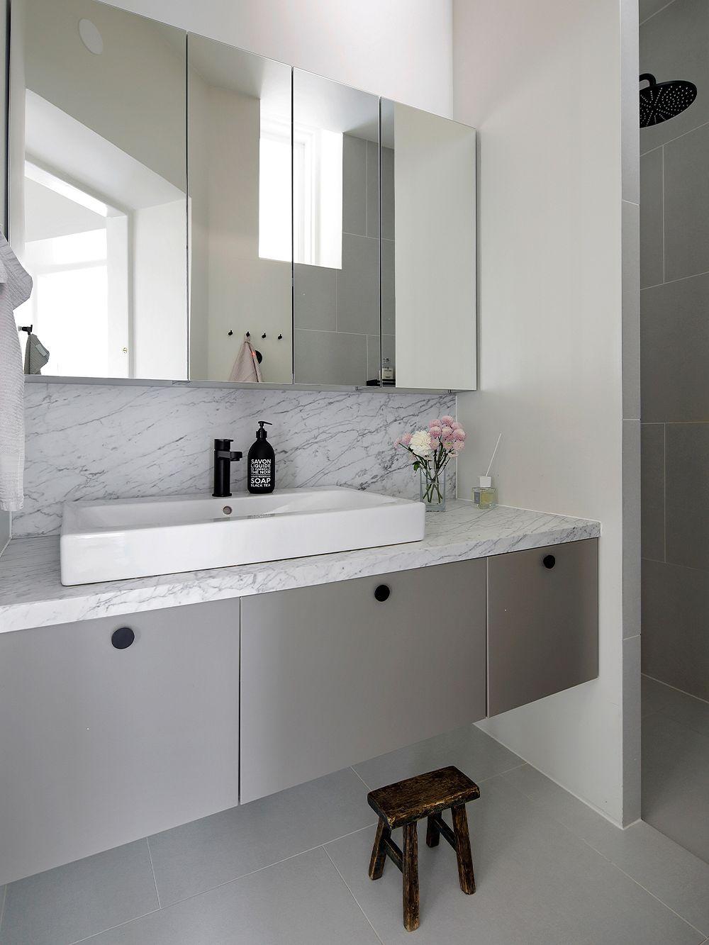 Kylpyhuone Helsingin Ullanlinnassa