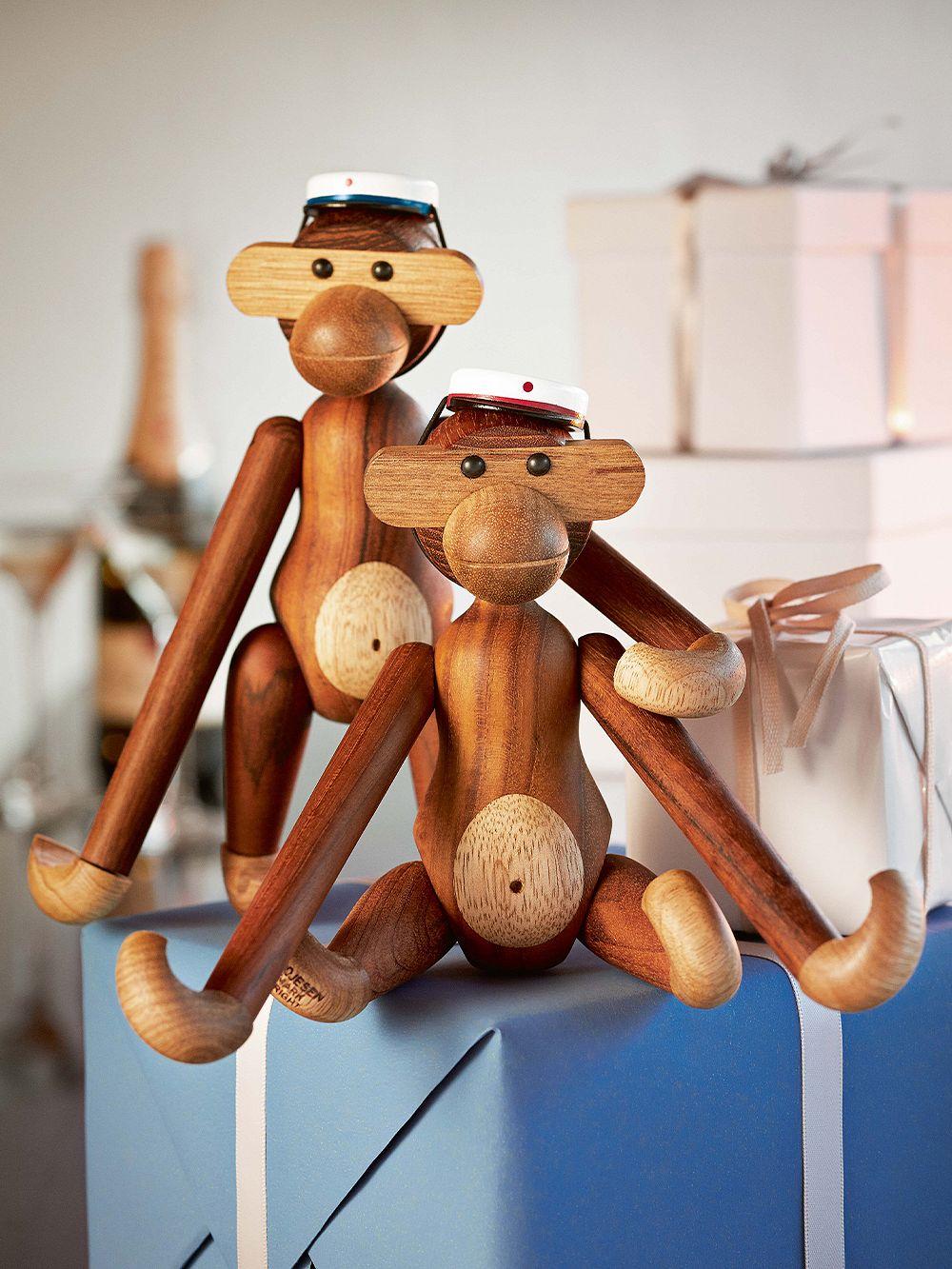 Kay Bojesen Ylioppilaslakki pienelle apinalle, sininen