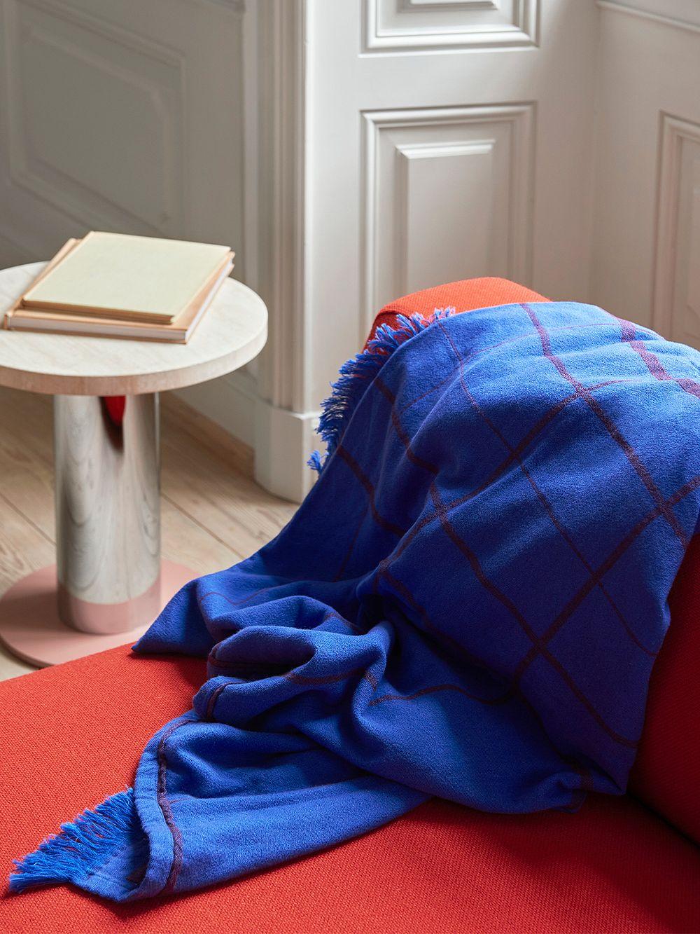 &Tradition Untitled AP10 torkkupeitto, 150 x 200 cm, sähkönsininen