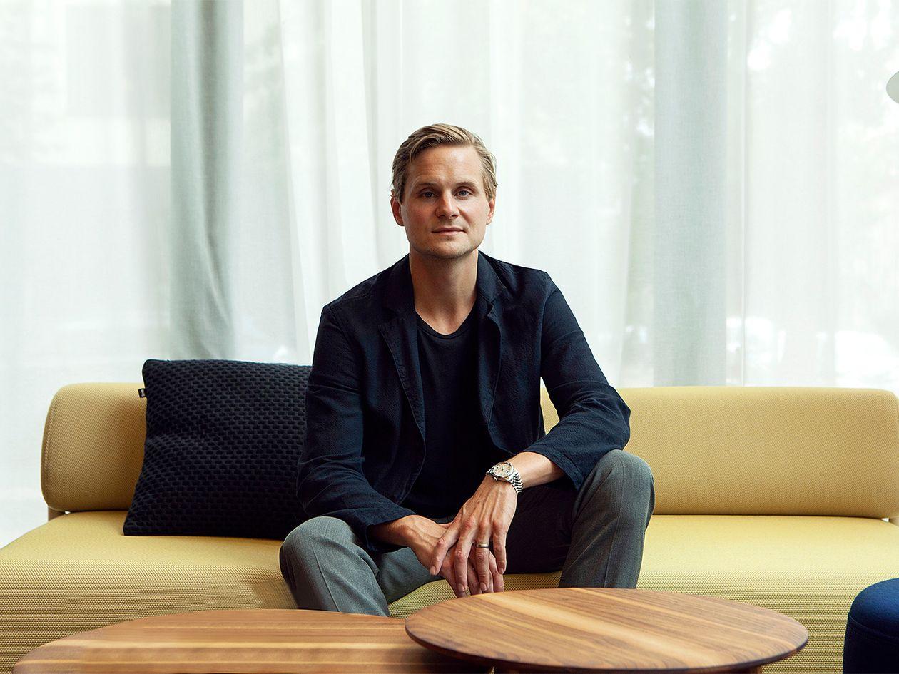 Hem's CEO and founder, Petrus Palmér.