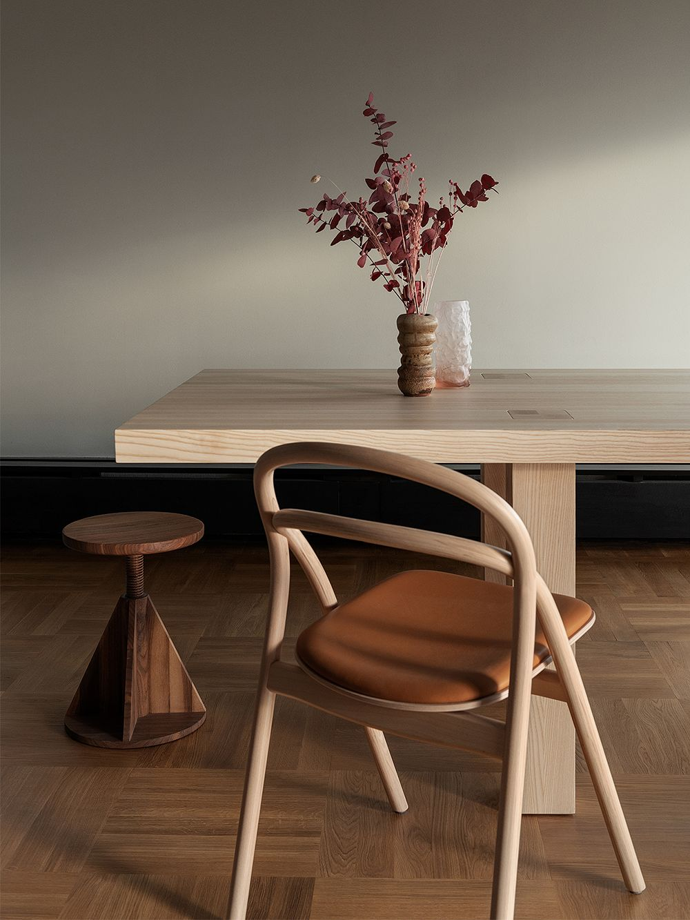 Hem's Udon chair in dining room decor.