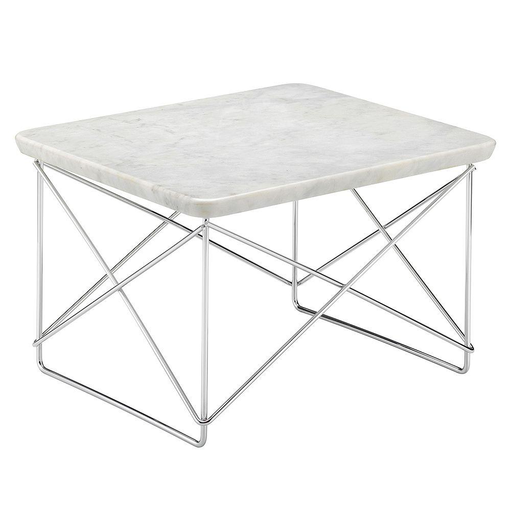 Vitran Occasional-pöytä, marmori ja kromi.