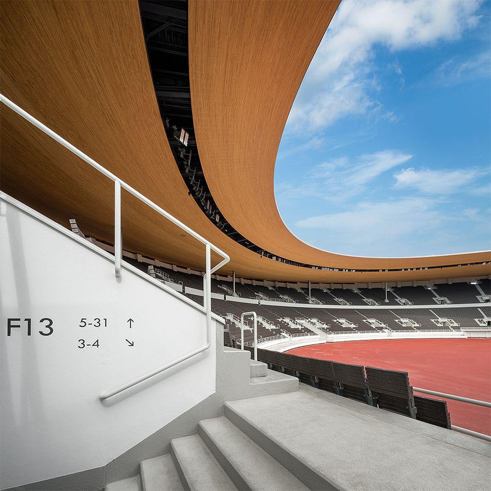 Helsingin Olympiastadionin uusittu katsomo