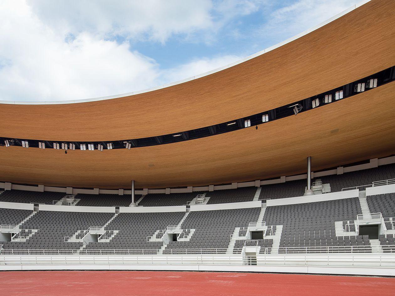 Helsingin Olympiastadionin katsomo