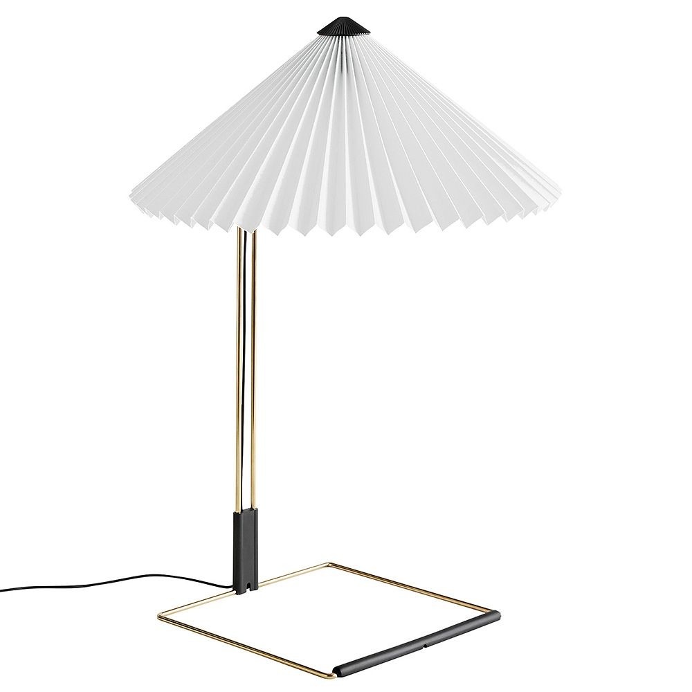 Hay's white table lamp, Matin.