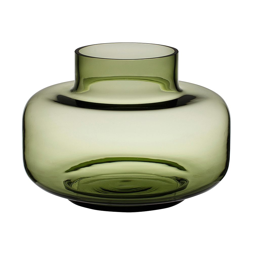 Marimekko's olive green Urna vase.