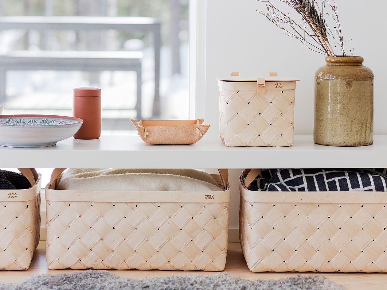 Lastu baskets by Verso Design.