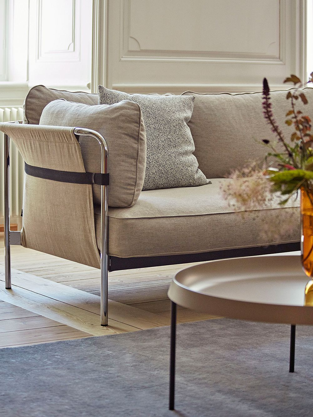 Hay's Can sofa as a part of the living room decor.