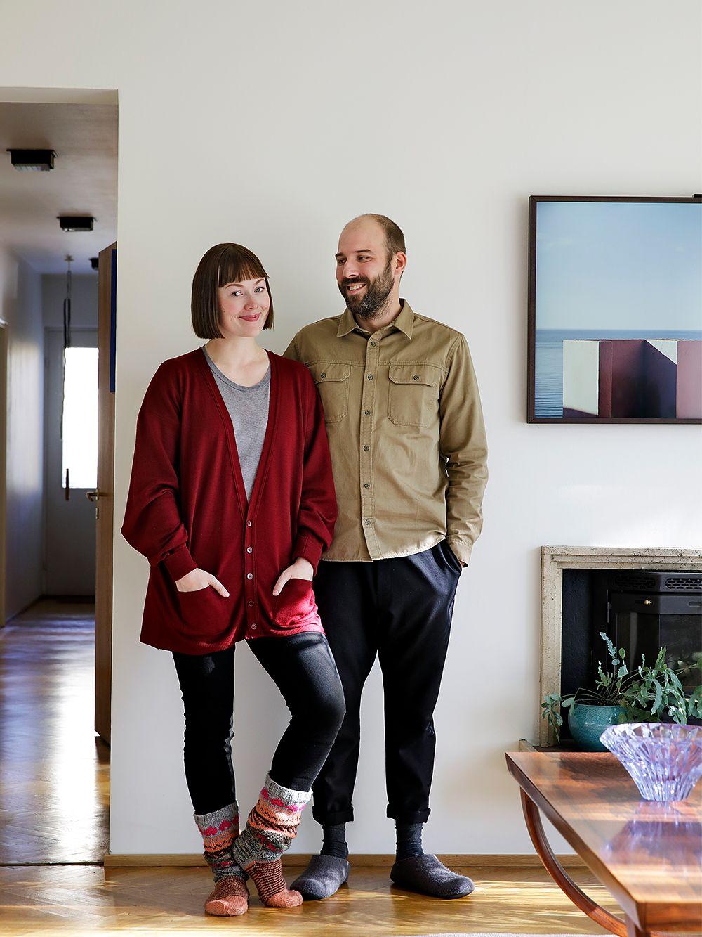Elisa Konttinen ja Antti-Jussi Silvennoinen