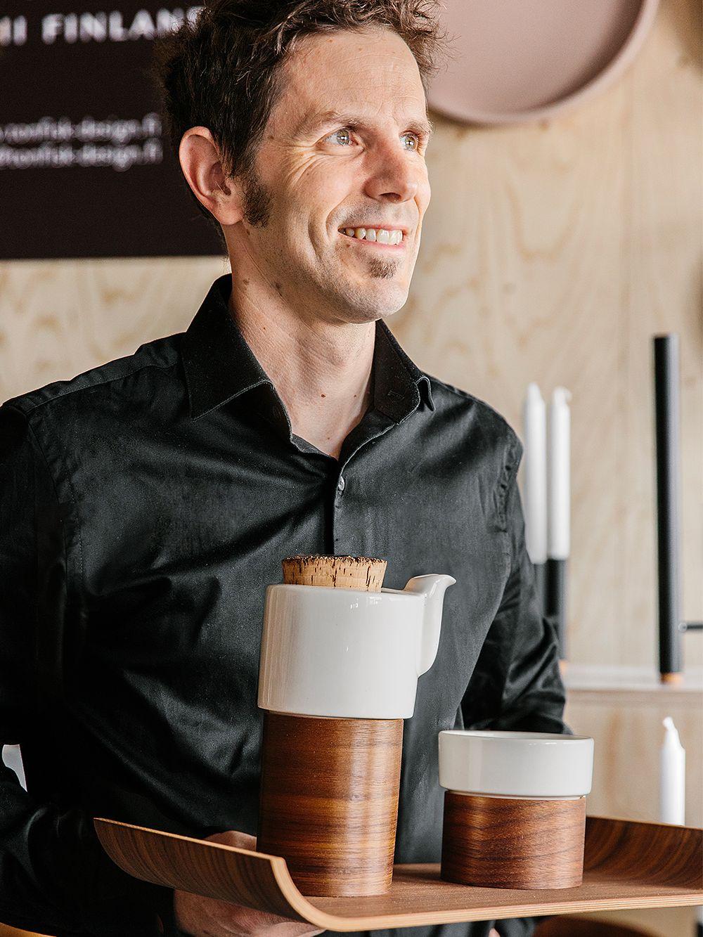Tonfisk Designin perustaja Brian Keaney.