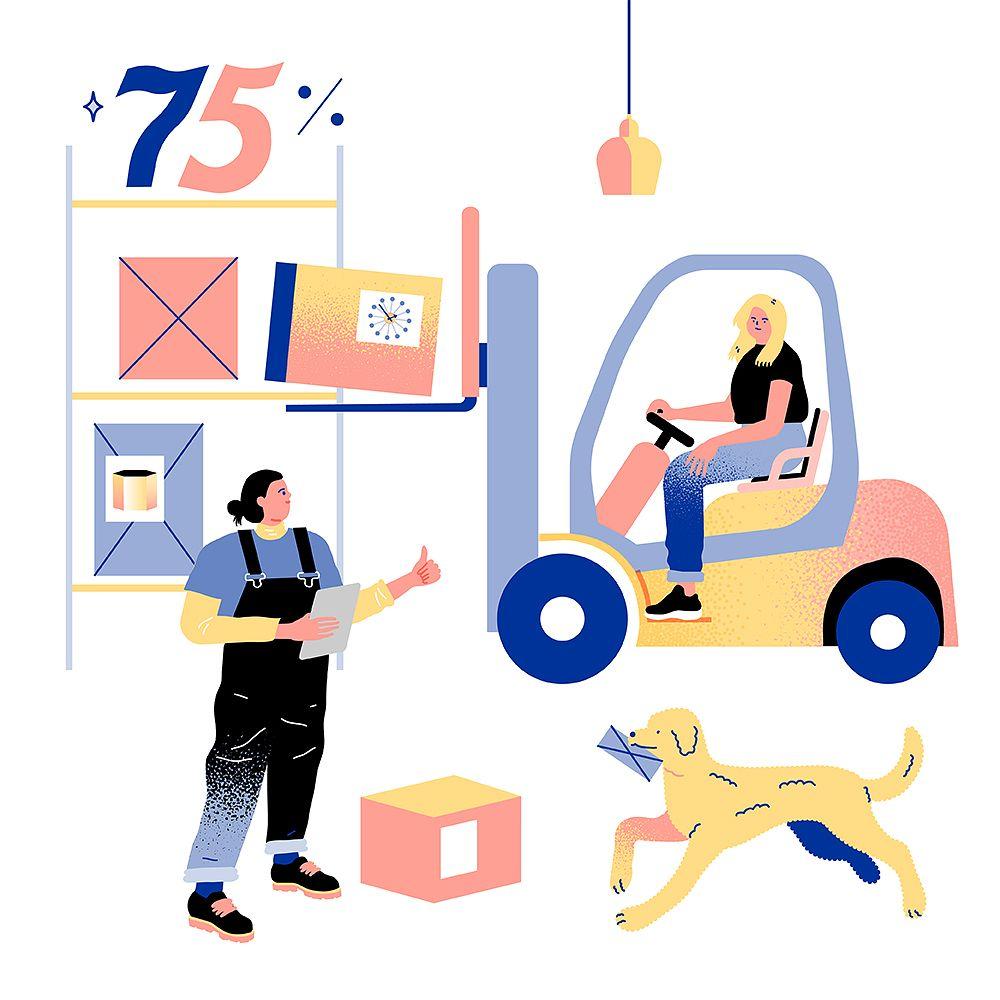 Finnish Design Shopin varasto