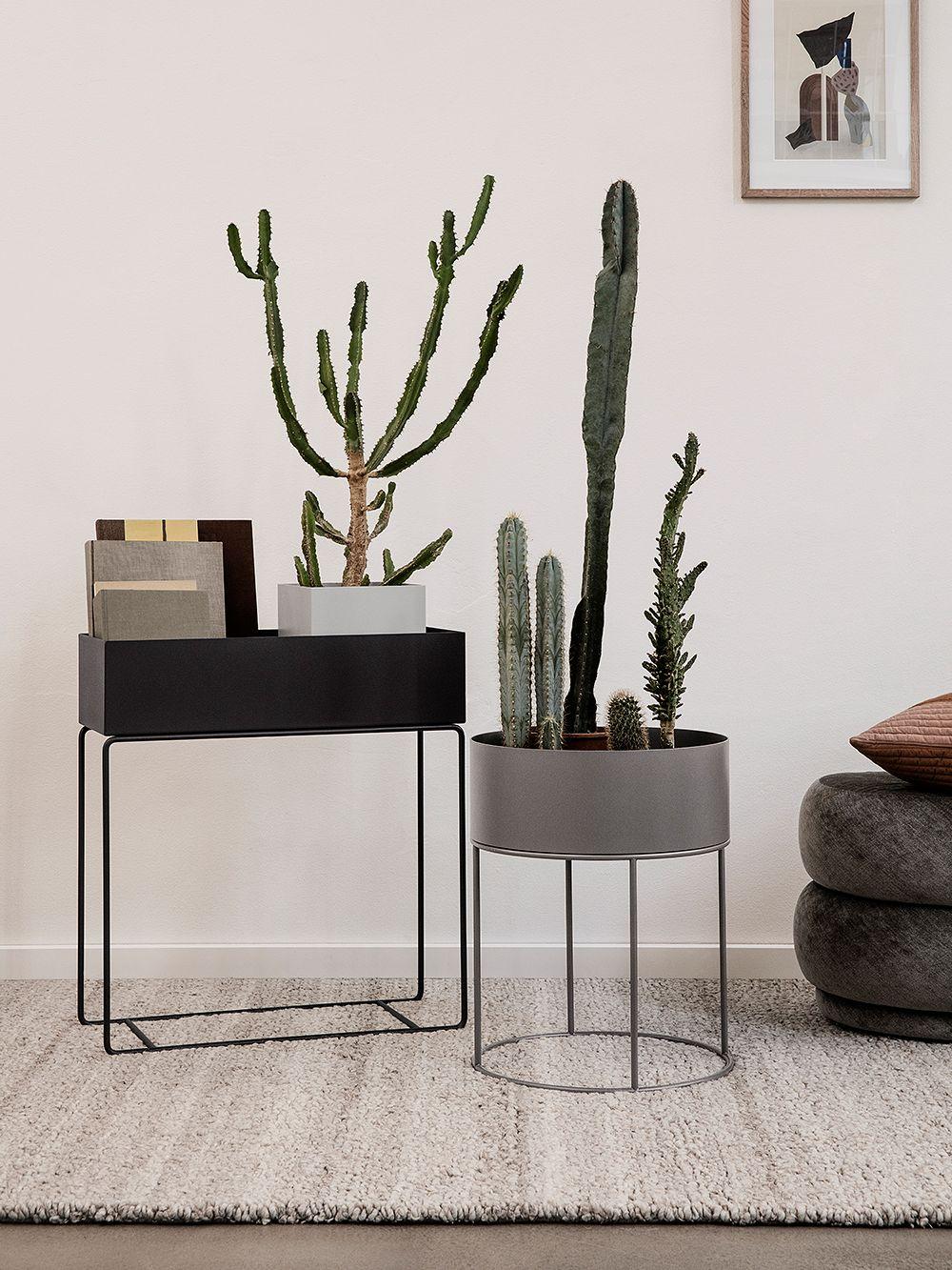 Ferm Living Plant Box musta