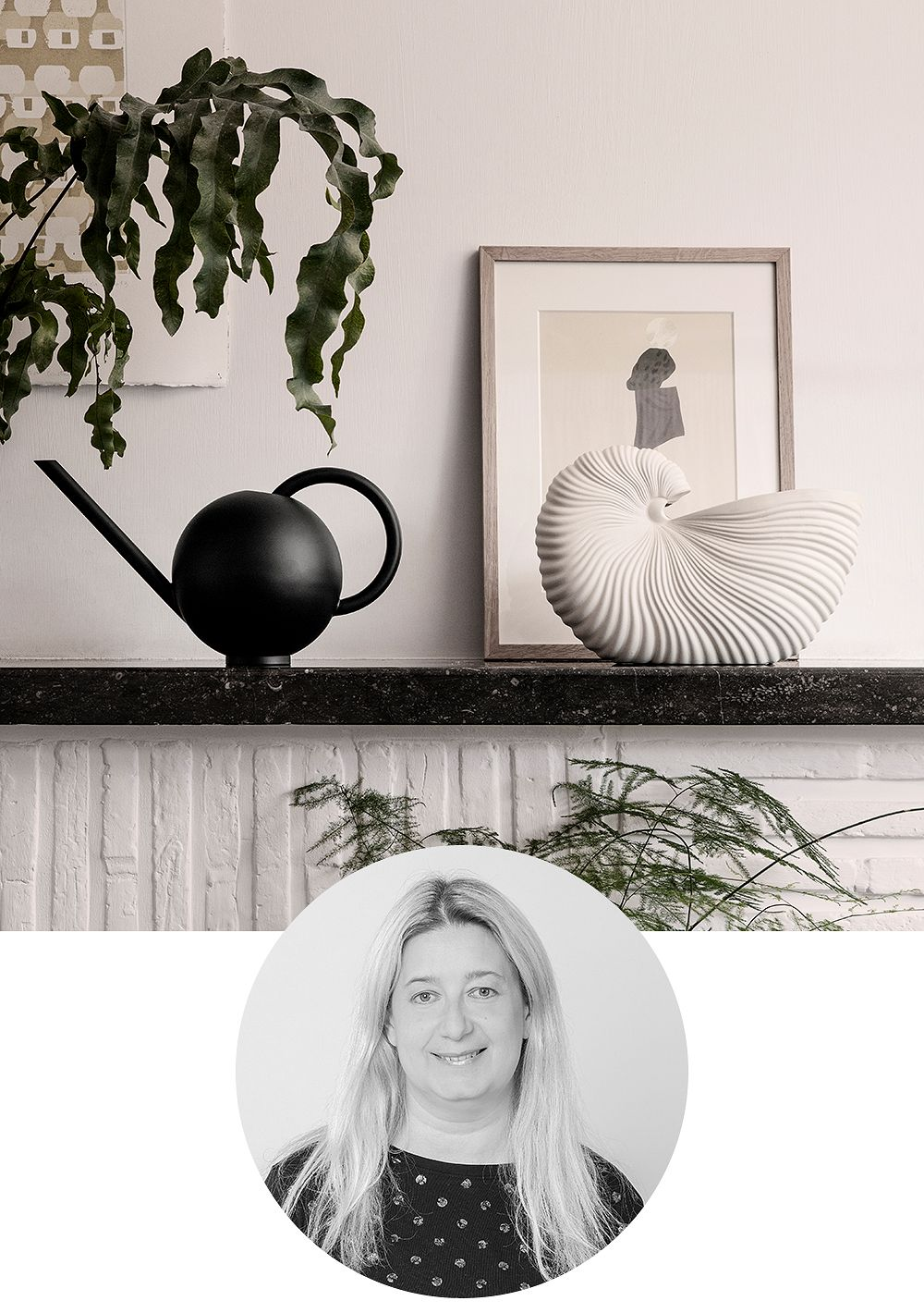 Ferm Living: Shell-ruukku