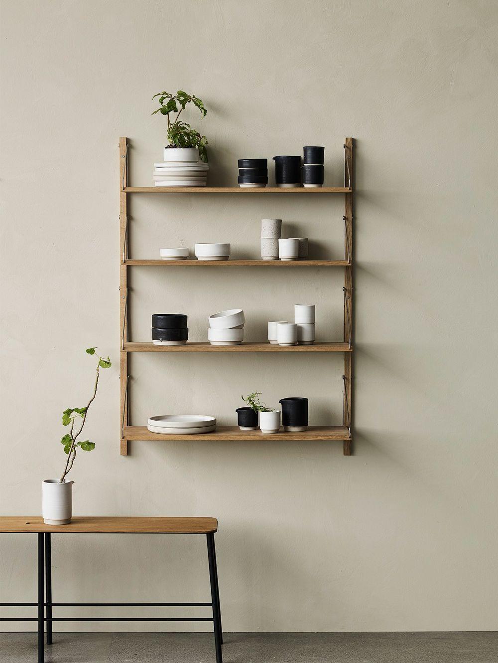 Framan Shelf Library -seinähylly